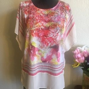 Chico's winged blouse